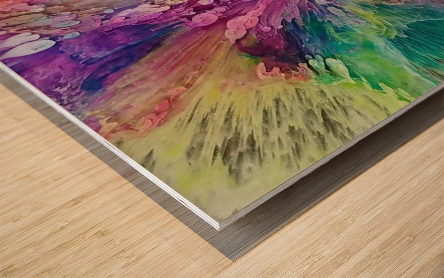Oceans Beyond 3 Wood print