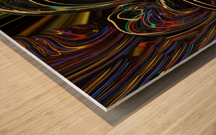 LENNYEGG Wood print