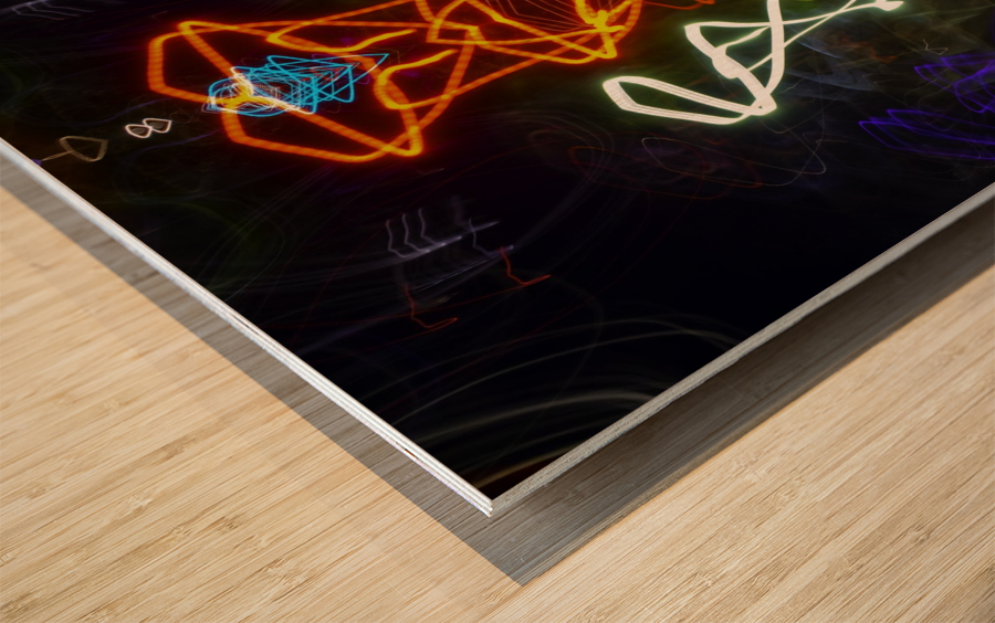 THE PLAN Wood print