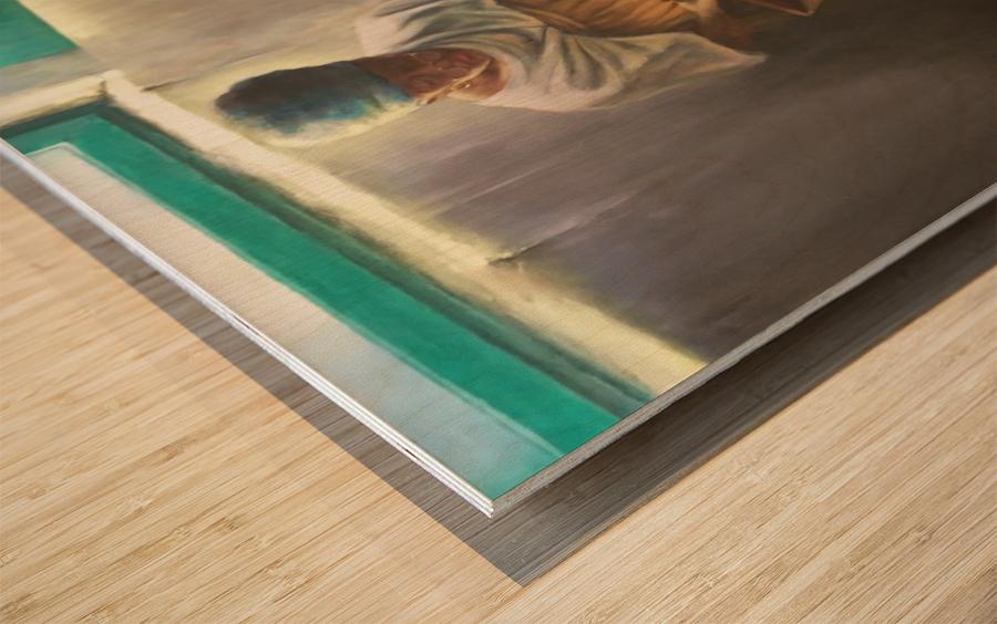 The Nutmeg Sorter Wood print