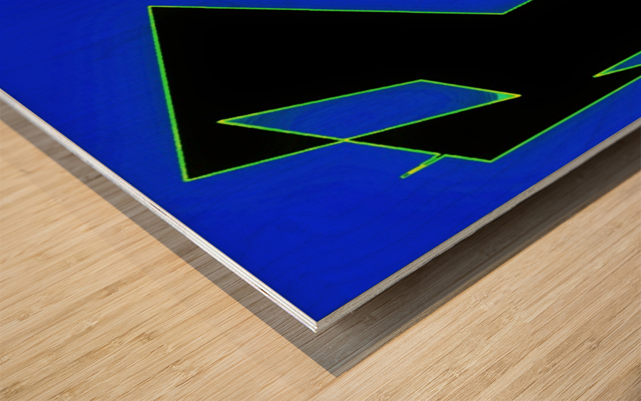 ComeTogetherOverME Wood print