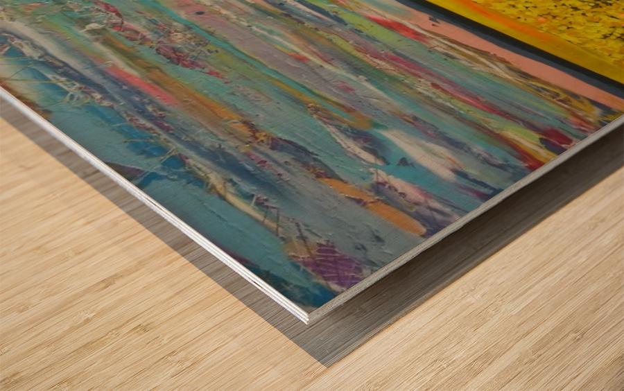 Arcadia Full Painting Wood print