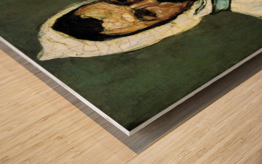 Portrait of Uncle Dominique as a monk by Cezanne Wood print