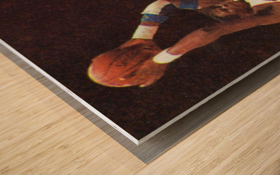 1986 New York Knicks Wood print