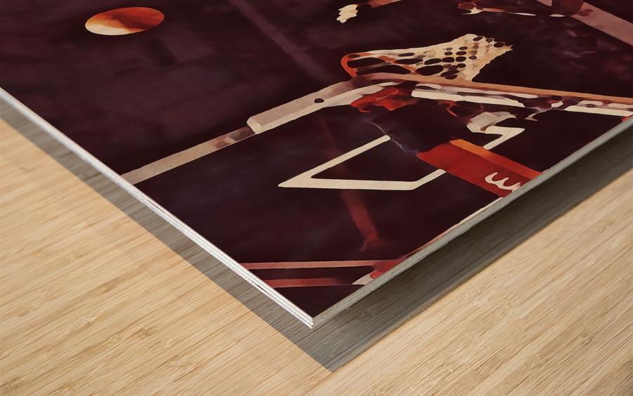 1981 Indiana Basketball Art Wood print