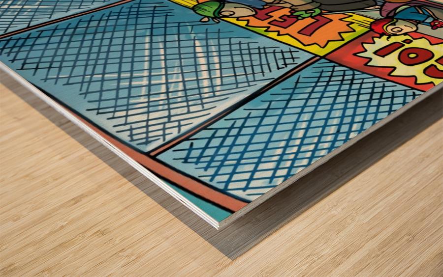 Go Karts - Bugville Critters Wood print