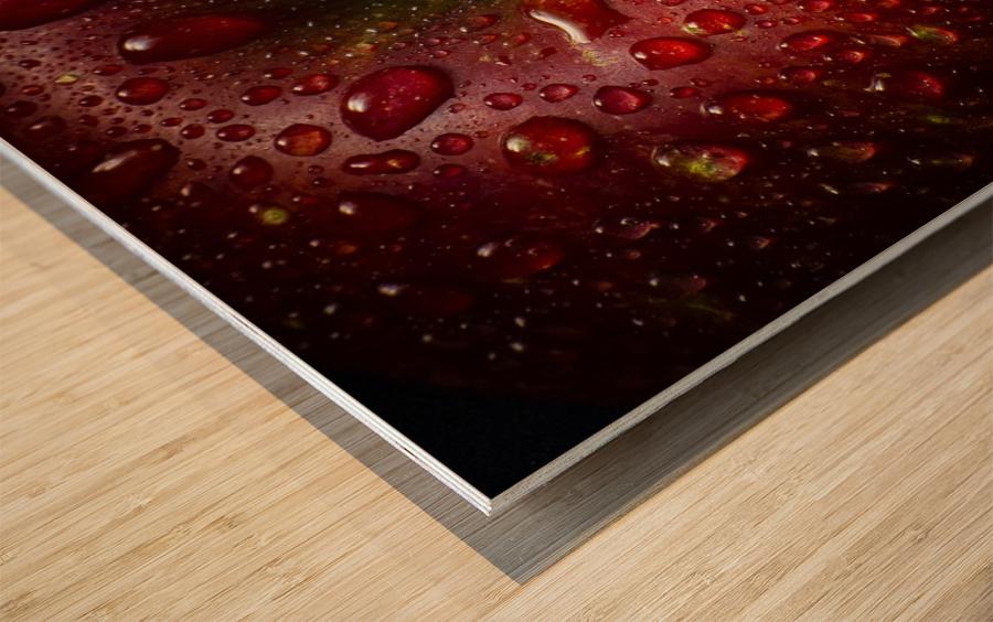Red Apple Wood print