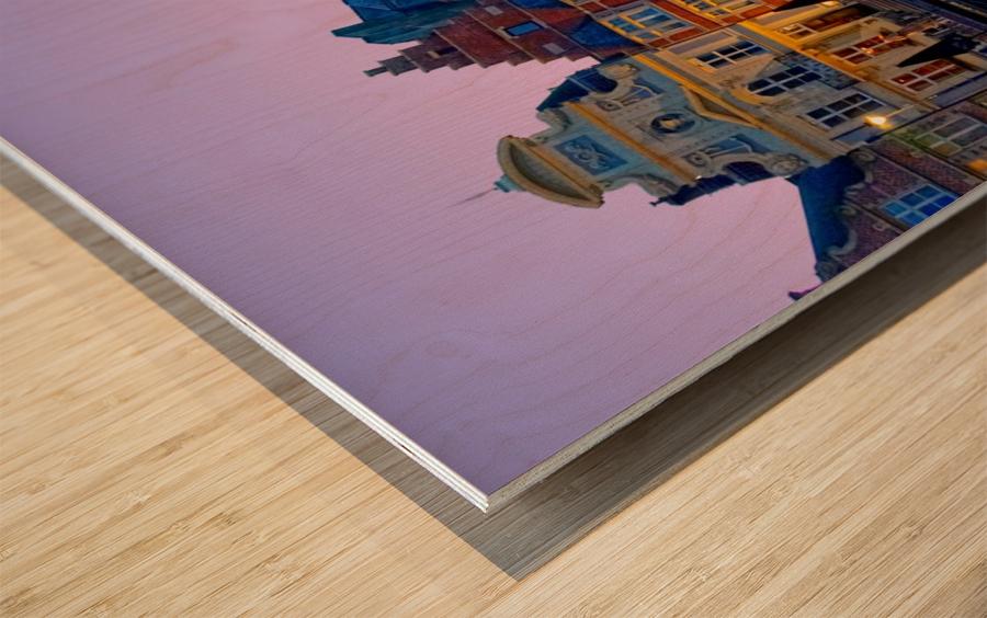 I Dreamed of Belgium Wood print