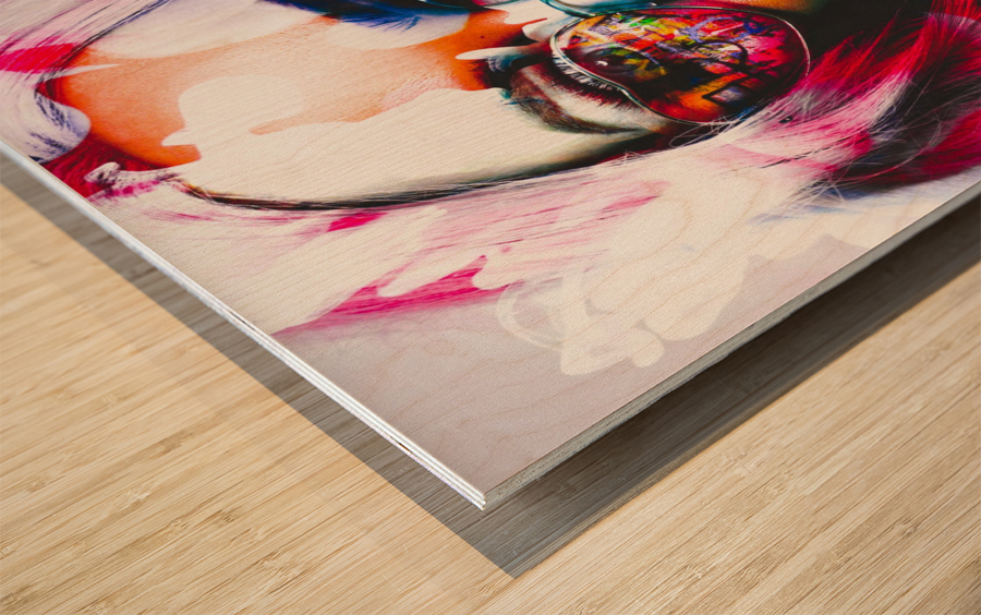 PICAZO  Wood print