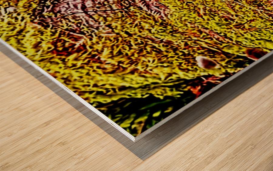 Tiny World 3 of 8 Wood print