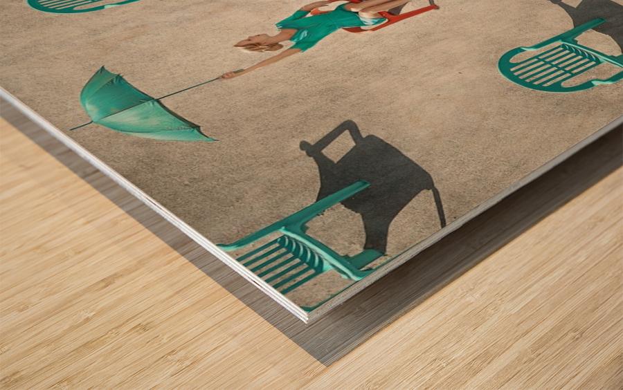 Mismatch Wood print