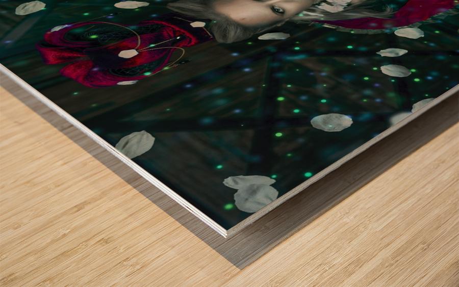 Majestic Feria Wood print