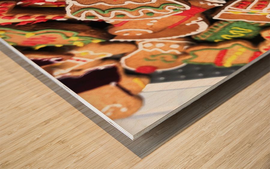 Cookies Wood print