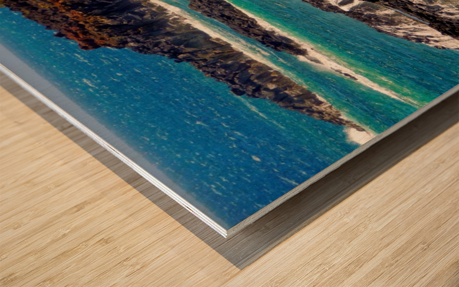 Rugged Kauai Wood print