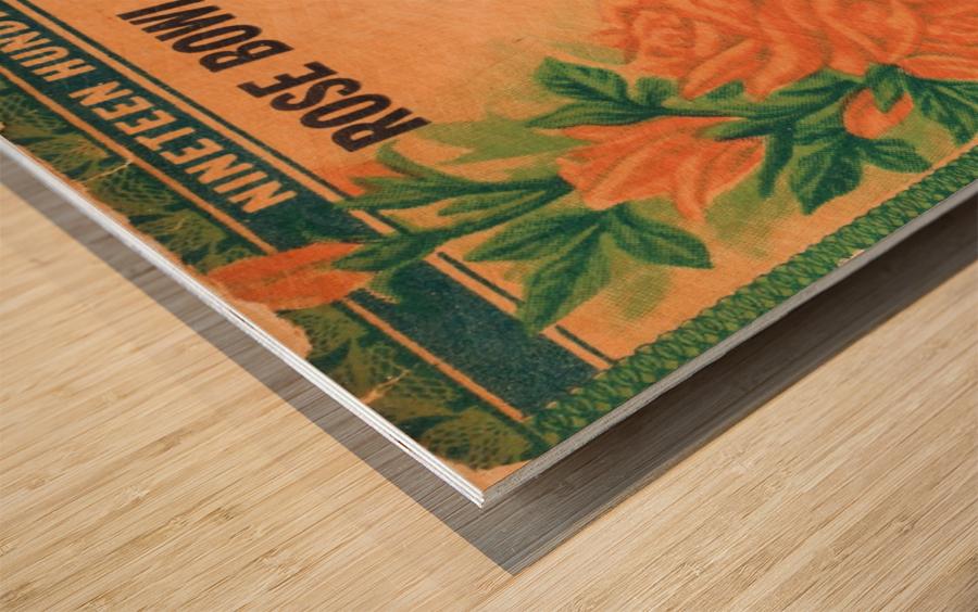 1938 Rose Bowl California Win Wood print