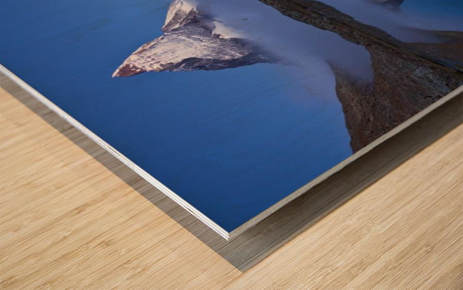 Night Mirror Wood print