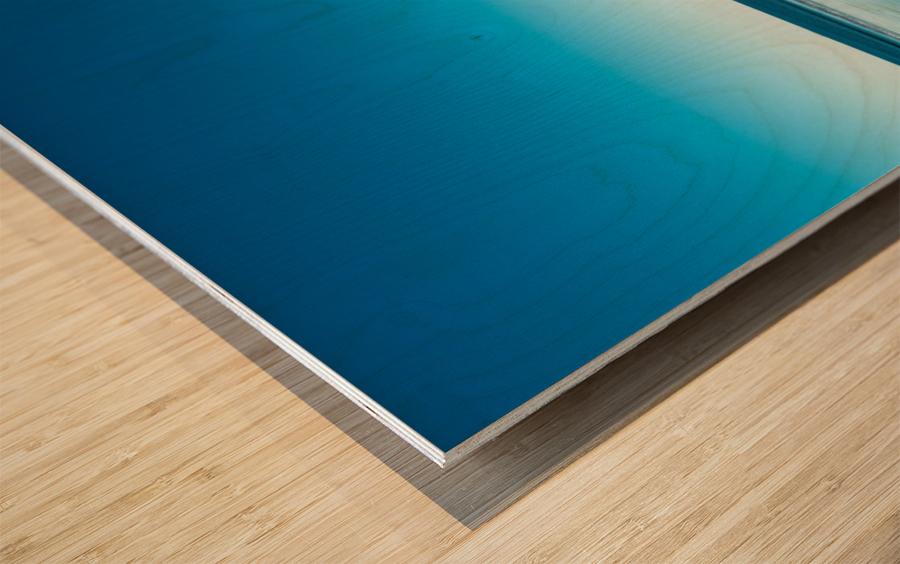 The Blues Wood print