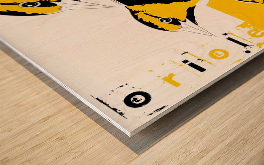 Orioles40x30 Impression sur bois