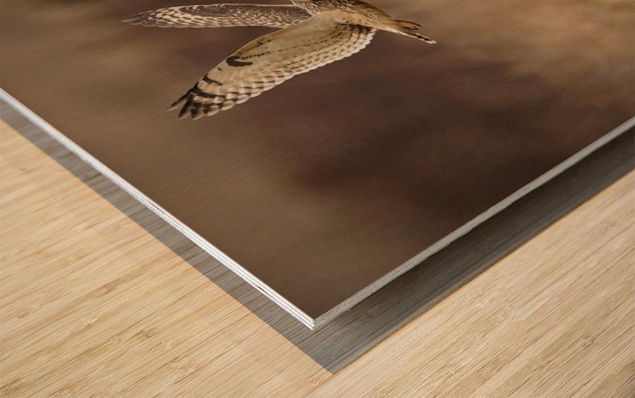 Wesley Allen Shaw 02133 Wood print