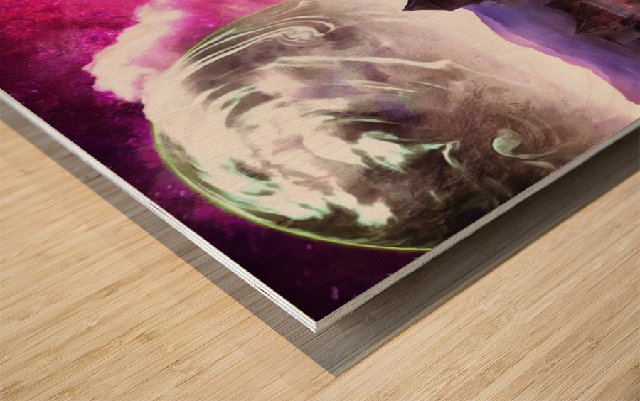 Serenity Vale Wood print
