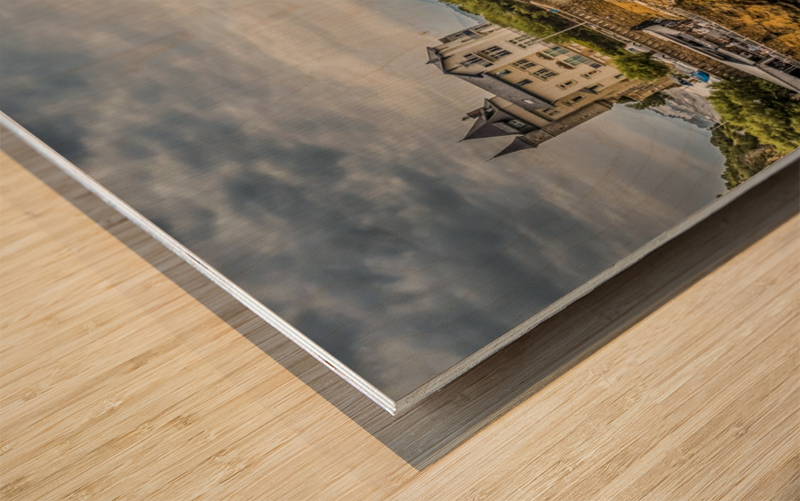 Biarritz Wood print