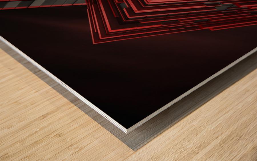 Blood Stream Wood print
