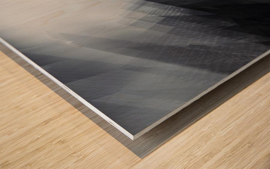 Parallel by Sebastien DEL GROSSO Wood print