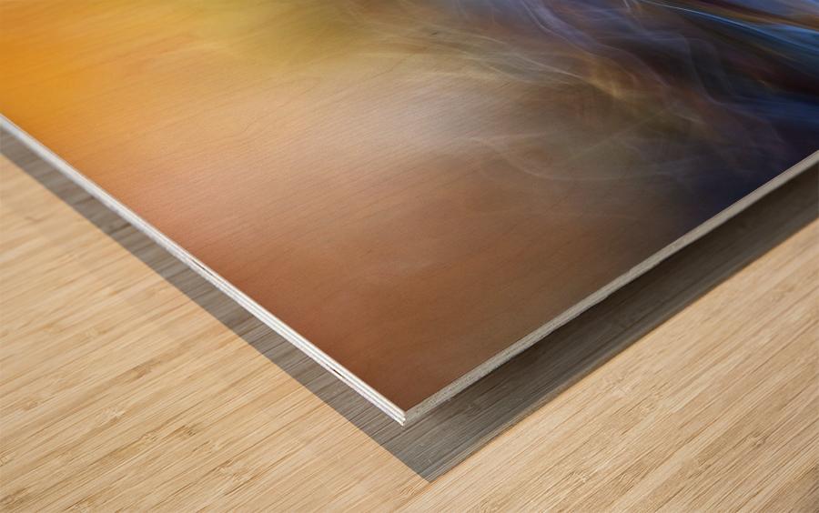 Inner Peace Wood print