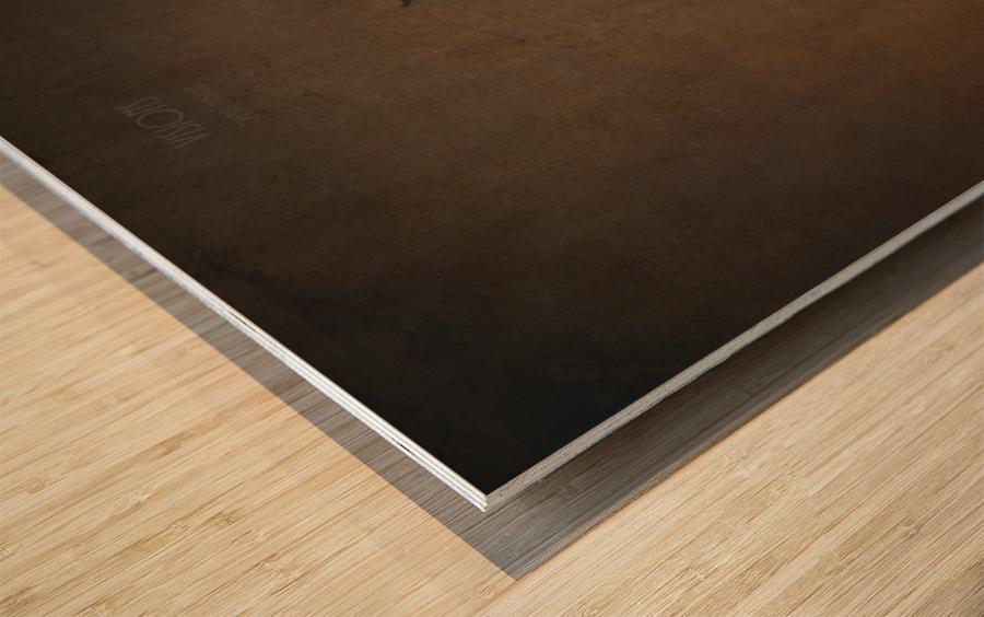 Etude Zen 7d suite Wood print