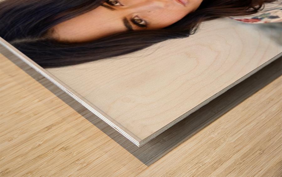 Cambodia brides Wood print