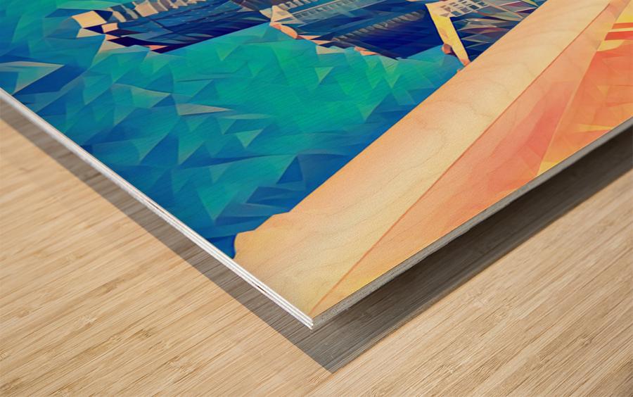 seattle under construction  1  Wood print