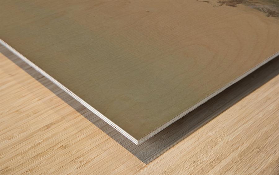 The Bravado Wood print