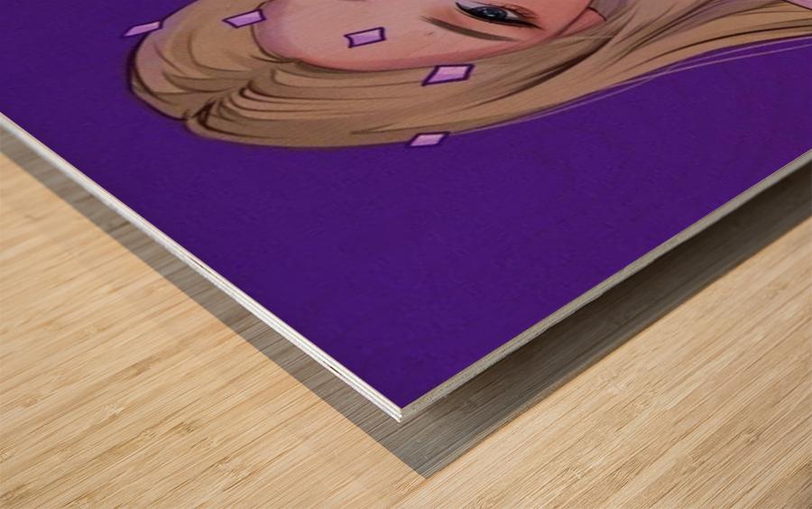 Chris Cox Artwork Wood print