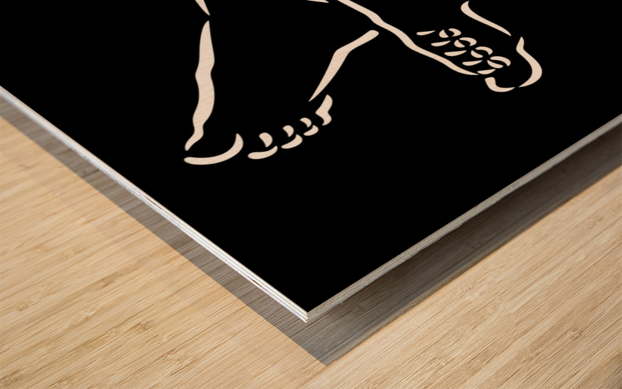 Legs 2 Wood print