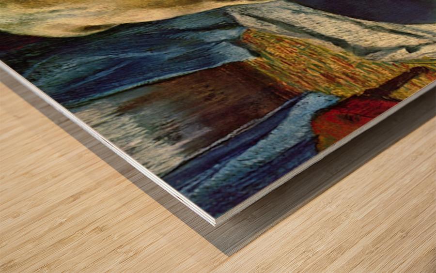 The Tub by Degas Wood print