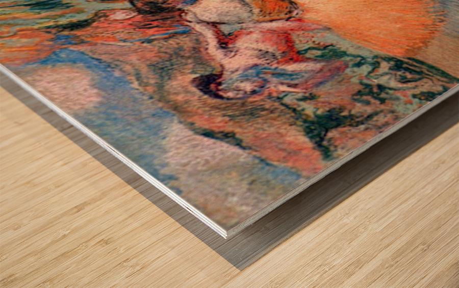 Three dancers 1 by Degas Wood print