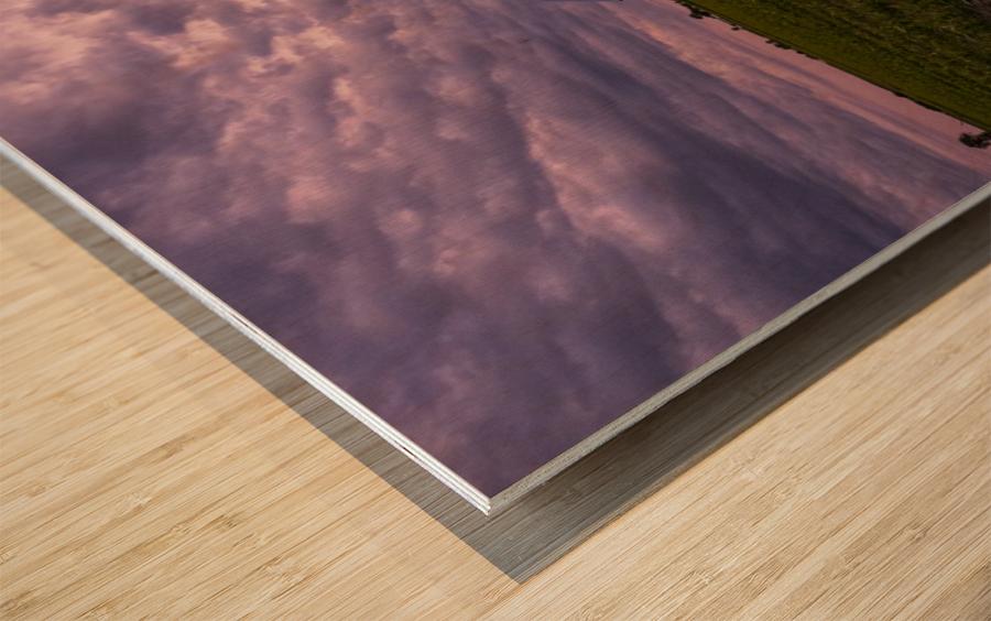 Inkling of storm Impression sur bois