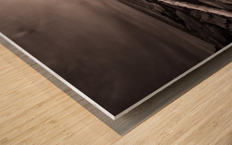 La Bloc Rocks Wood print
