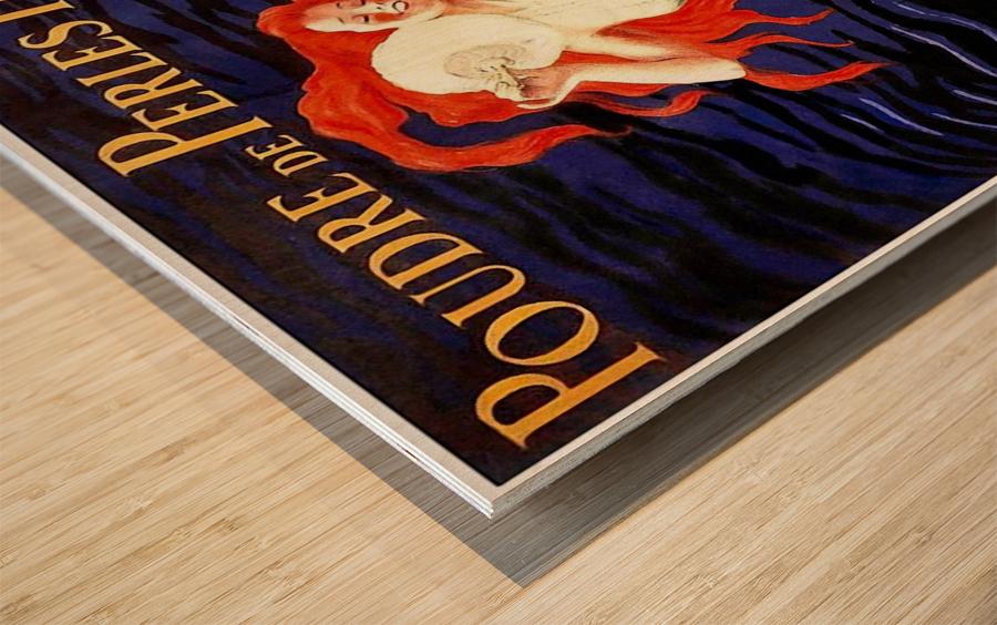 Poudre de Perles Fines Vintage Poster Wood print
