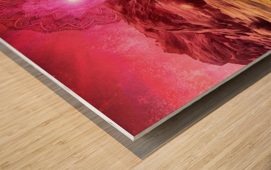 Eikthyrnir Wood print
