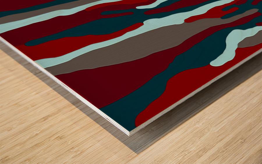 Bloodrain Wood print