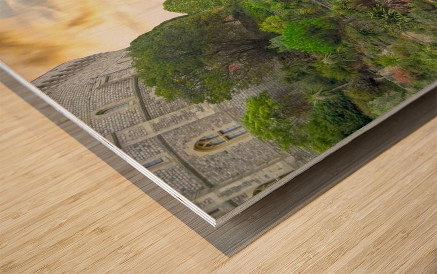 Windsor Castle at Sunset Wood print