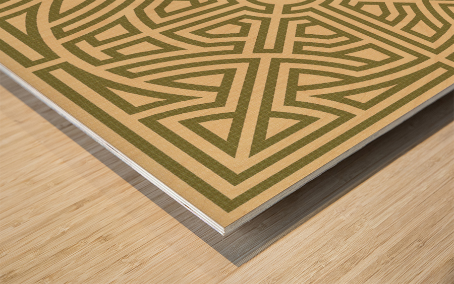 Labyrinth 6002 Wood print