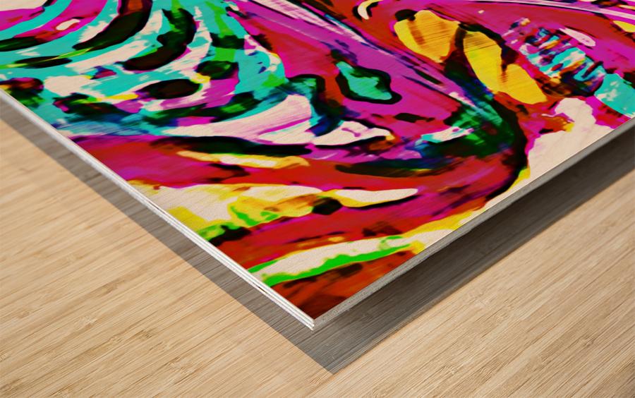Lirium Wood print