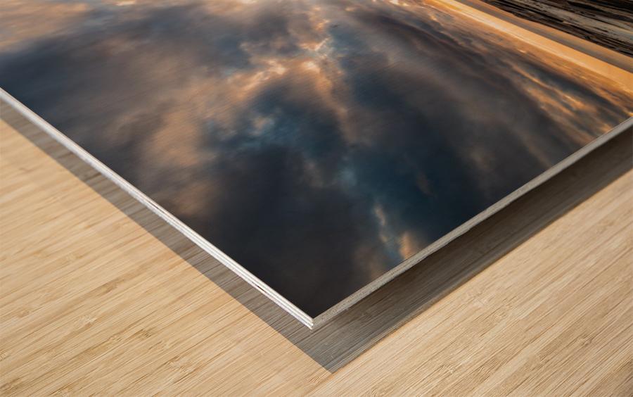The Glory Wood print