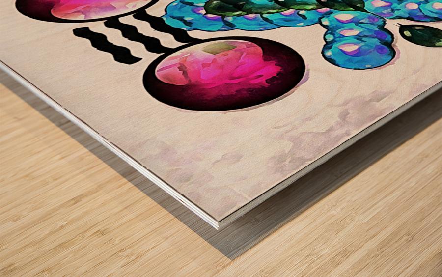 Hado Energy 10 Wood print