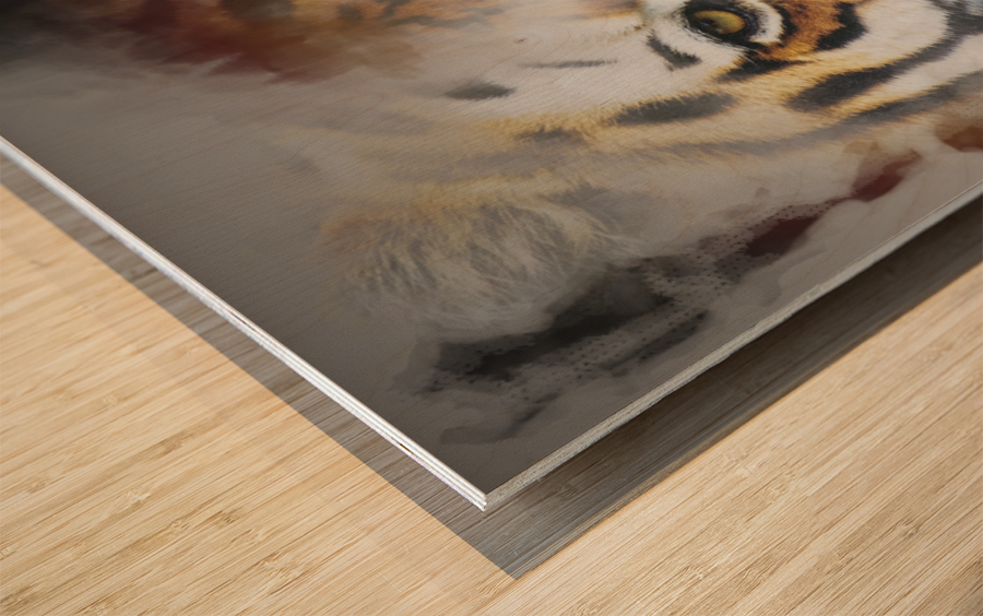Tigre Wood print