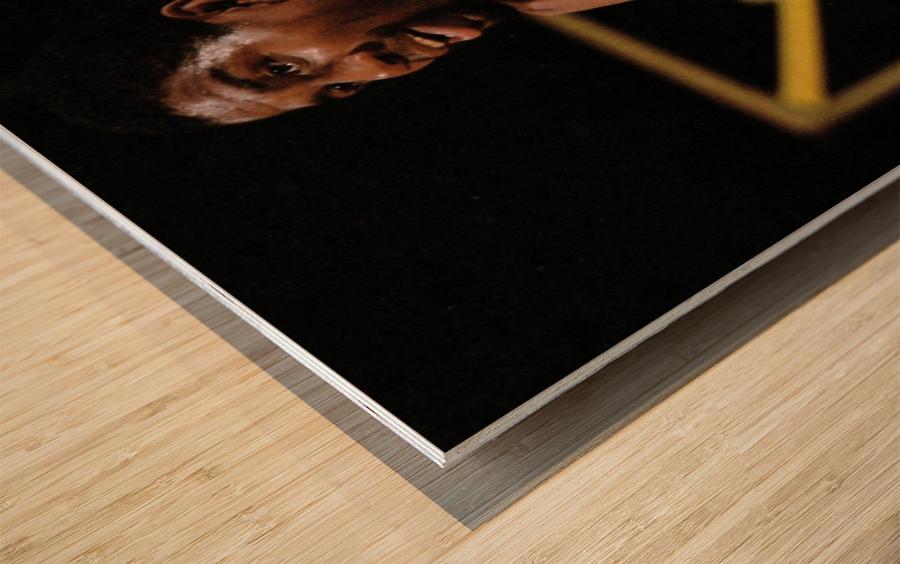 1984 Magic Johnson Row 1 Wood print