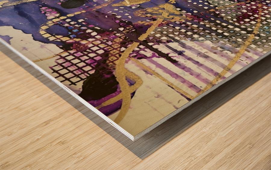 Breaking Free Wood print