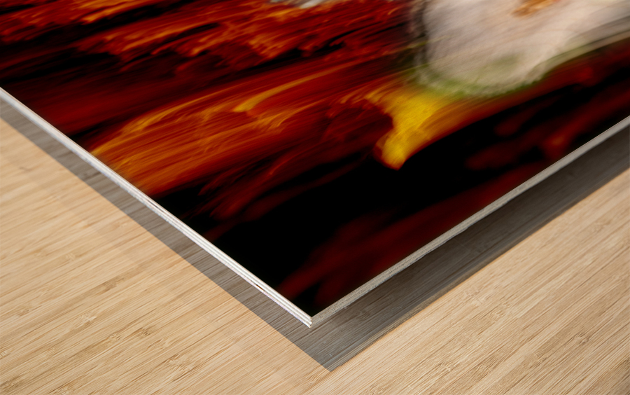 walk down Limited Edition of 5 Wood print